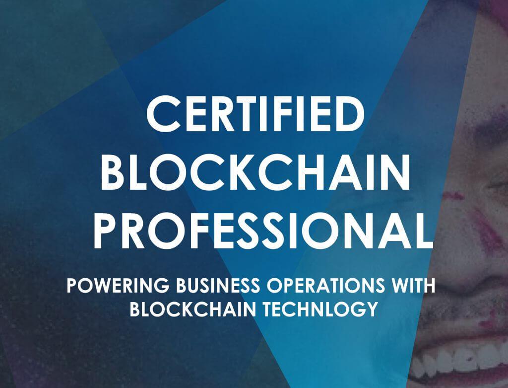 Certified Blockchain Professional logo