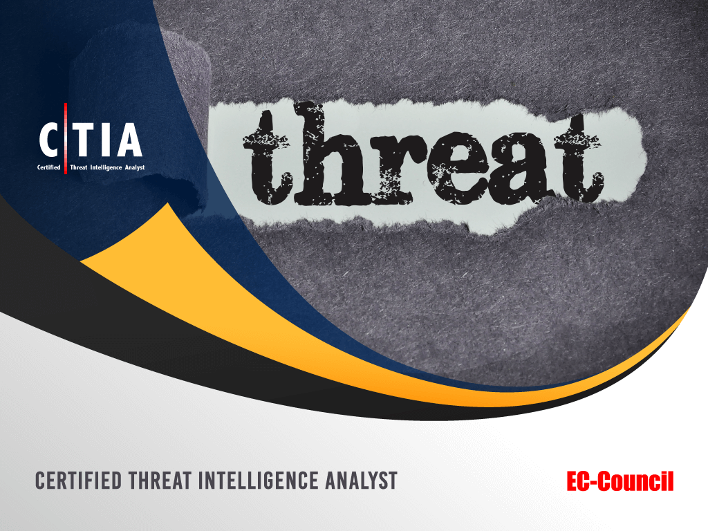 Certified Threat Intelligence Analyst image