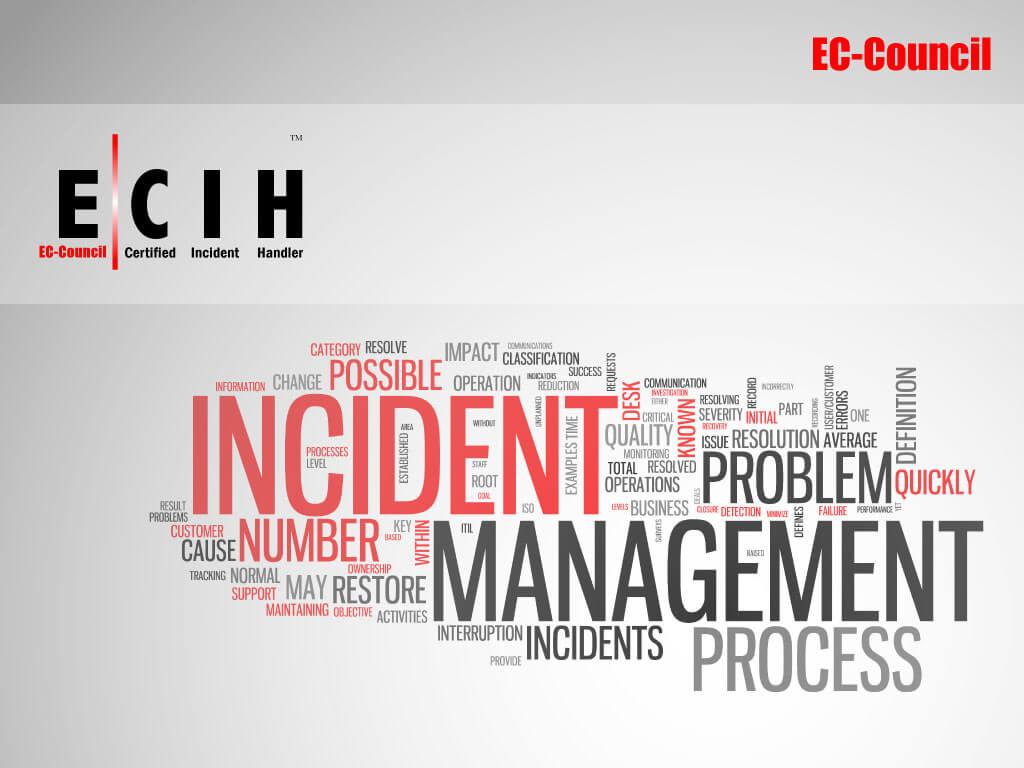 EC-Council Certified Incident Handler image